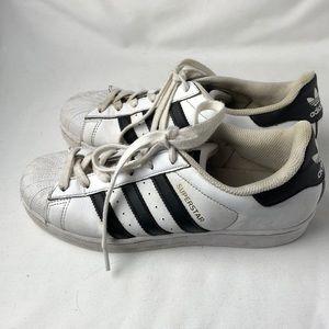 Zapatillas adidas superstar blanco zapatillas poshmark negro Stripe